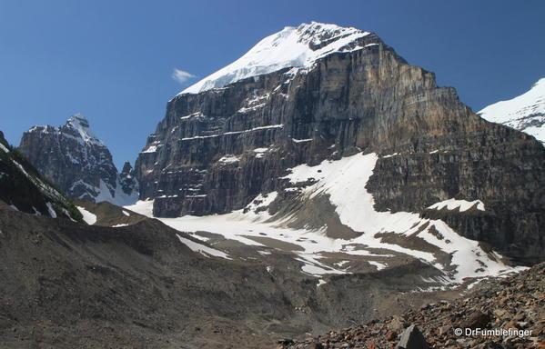 Mt. LeFroy , Plain of Six Glaciers