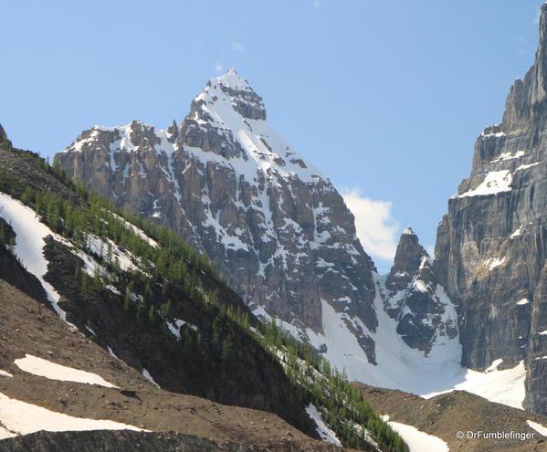 The Mitre, Plain of Six Glaciers