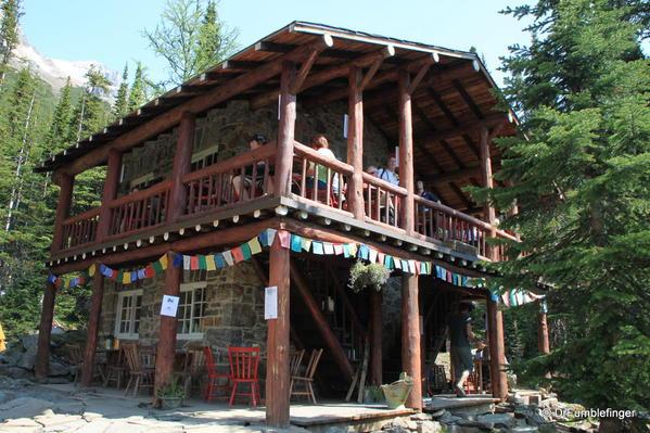 Six Glaciers Teahouse