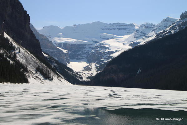 Lake Louise in early June