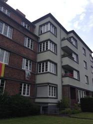 Reiner's top floor apartment