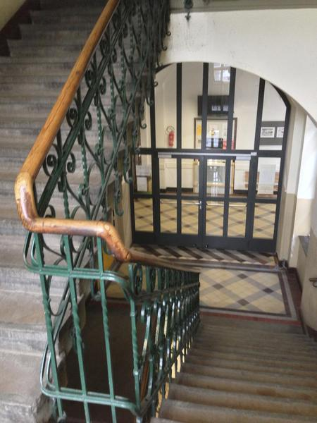 Inside Hansa Gymnasium