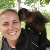 Me with a monkey