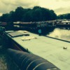 Canal boats on River Lea: Canal boats on River Lea