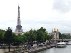 Paris Seine and our Eiffel