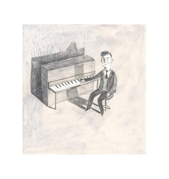 Reiner at Piano illus