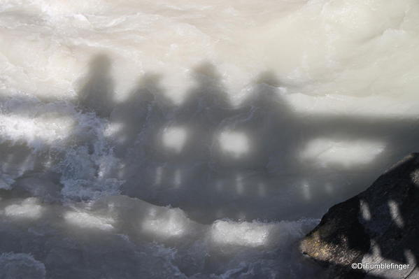 Shadows on theYoho River, Yoho National Park
