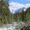 Yoho River & Yoho Glacier, Yoho National Park