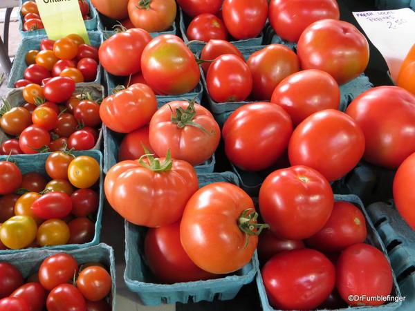 Tomatoes, St Catharines Market, Niagara Peninsula, Ontario