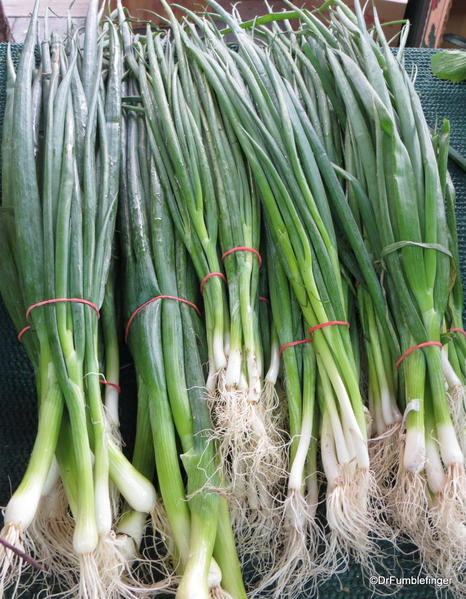 Green onions, St Catharines Market, Niagara Peninsula, Ontario