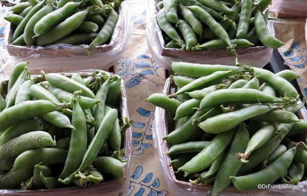 Peas, St Catharines Market, Niagara Peninsula, Ontario