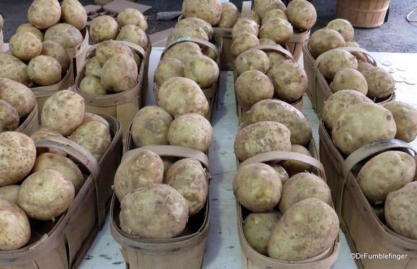 Potatoes, St Catharines Market, Niagara Peninsula, Ontario