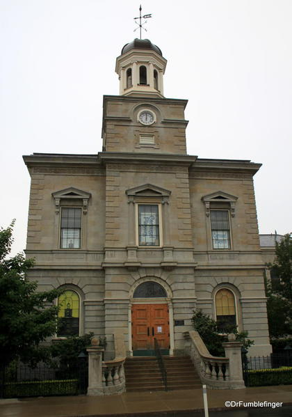 Old courthouse, St. Catharines, adjoining the market