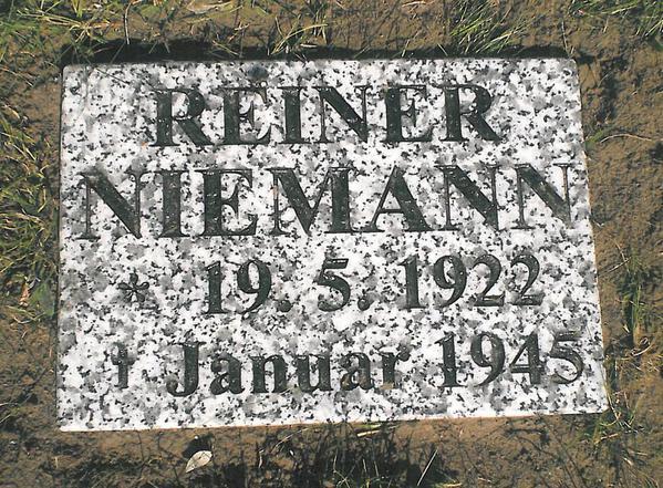 Reiner's new gravestone