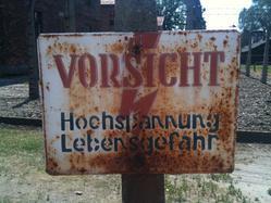 Auschwitz Danger