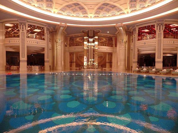 The amazing Riyadh Ritz Carlton hotel spa--but for men only!