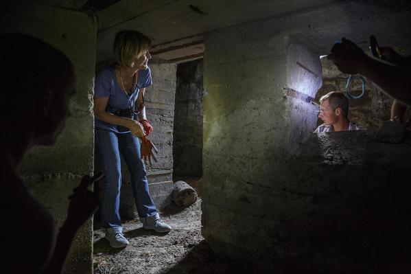 WS in bunker