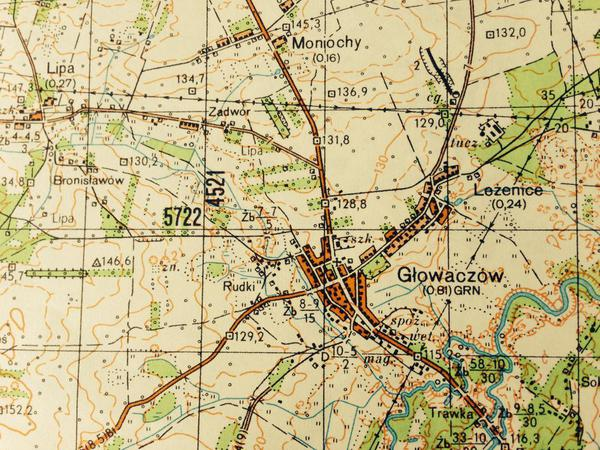 Glowaczow Map 1