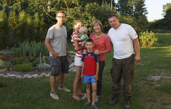 Pawel, WS, & Lukasz' Family