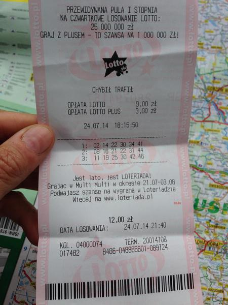 Polish Lottery Ticket