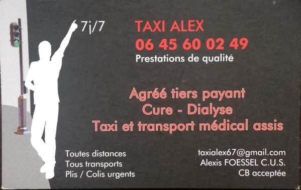 Taxi Alex Strasbourg