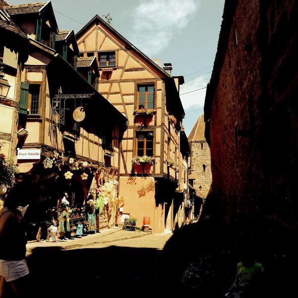 Bricked street