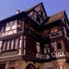 Half-timbered house: Half-timbered house
