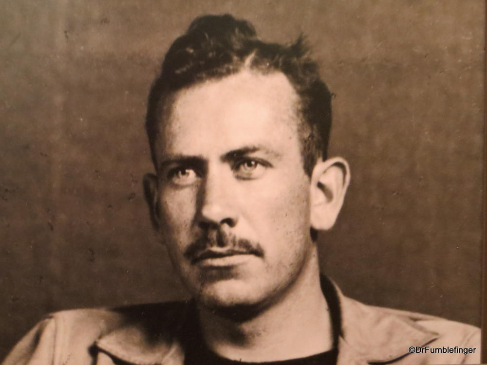a biography of john ernst steinbeck an american author John ernst steinbeck was the author of 16 novels and various other works,   great american novels, penetrating one of the deepest scars in america's history.
