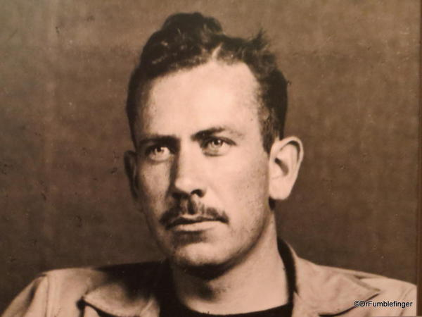 The National Steinbeck Center, Salinas. Photo of a young John Steinbeck