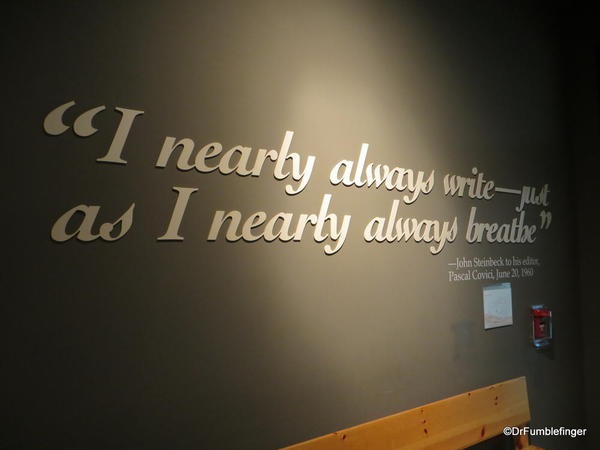 The National Steinbeck Center, Salinas.
