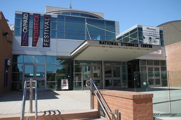 The National Steinbeck Center, Salinas. Entrance