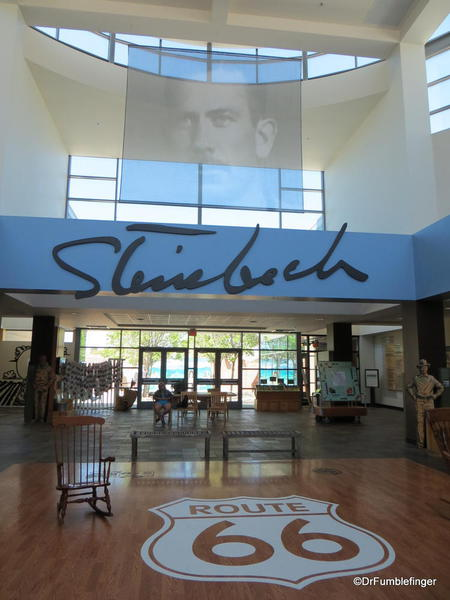 The National Steinbeck Center, Salinas. Foyer