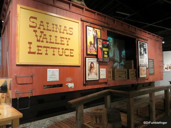 The National Steinbeck Center, Salinas. East of Eden exhibit