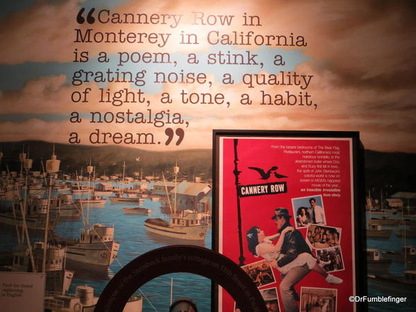 The National Steinbeck Center, Salinas. Cannery Row exhibit