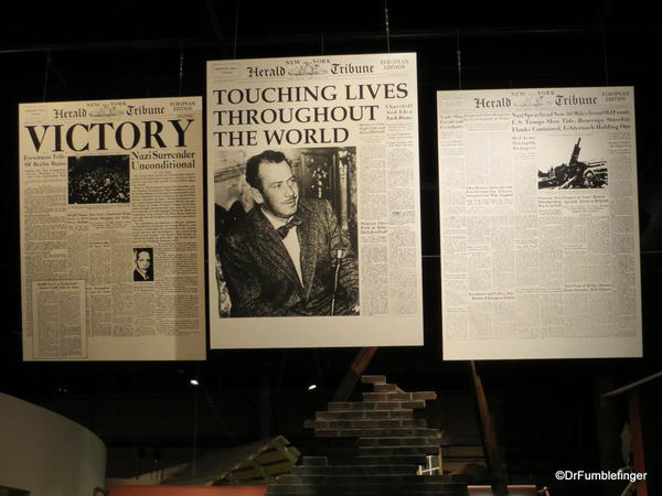 The National Steinbeck Center, Salinas. John Steinbeck, correspondent