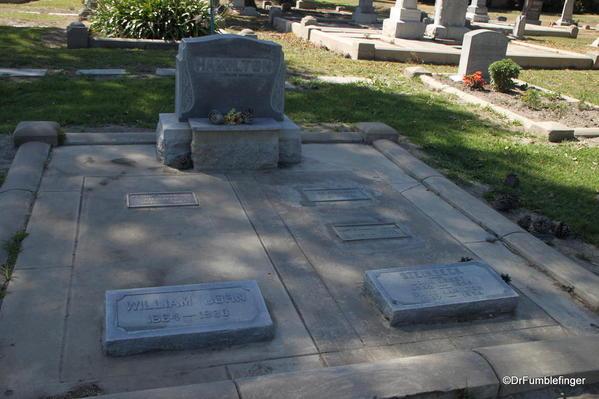Steinbeck's family grave, Salinas' Garden of Memories Cemetery