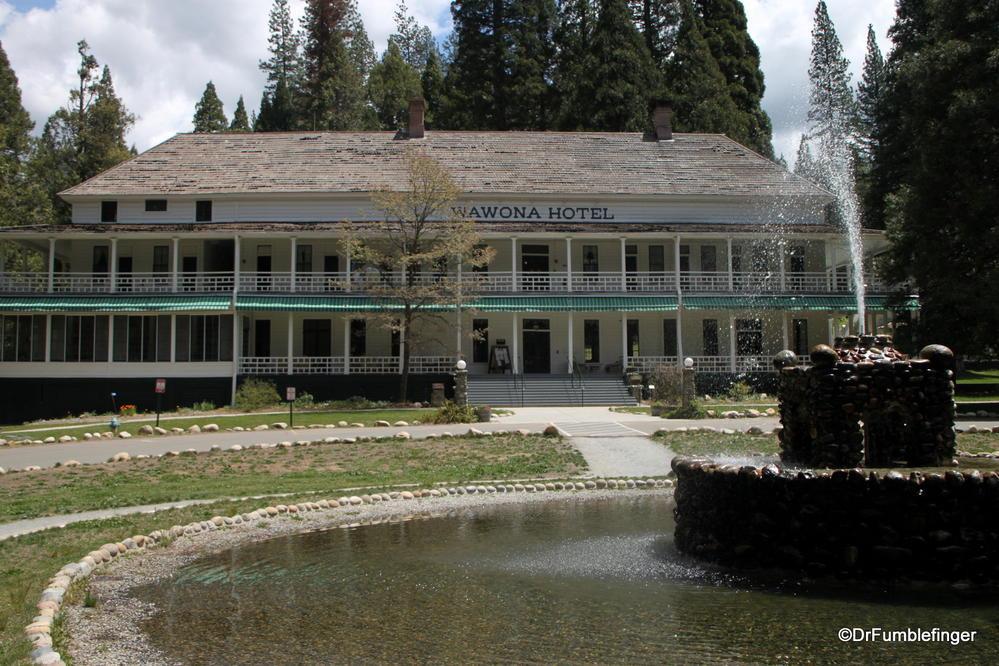Wawona Hotel Yosemite National Park California Where
