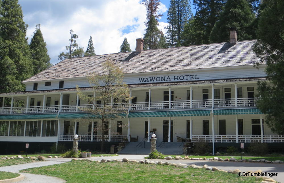 Wawona Hotel Yosemite National Park California Where