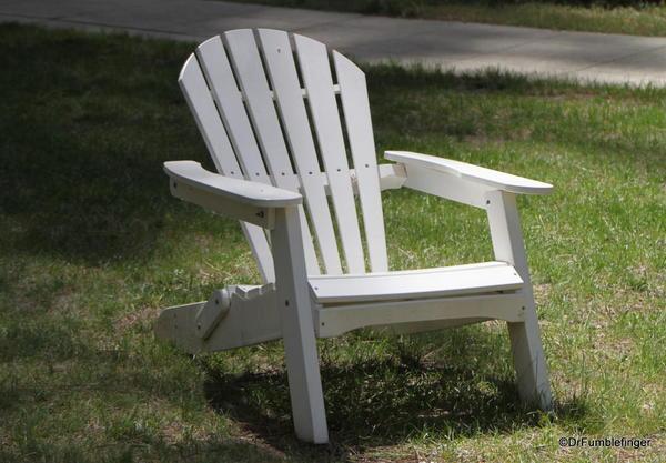 Adirondack chair, Wawona Hotel, Yosemite National Park