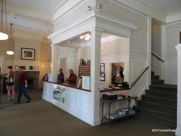 Registration desk, Wawona Hotel, Yosemite National Park
