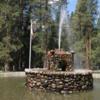 Fountain, Wawona Hotel, Yosemite National Park