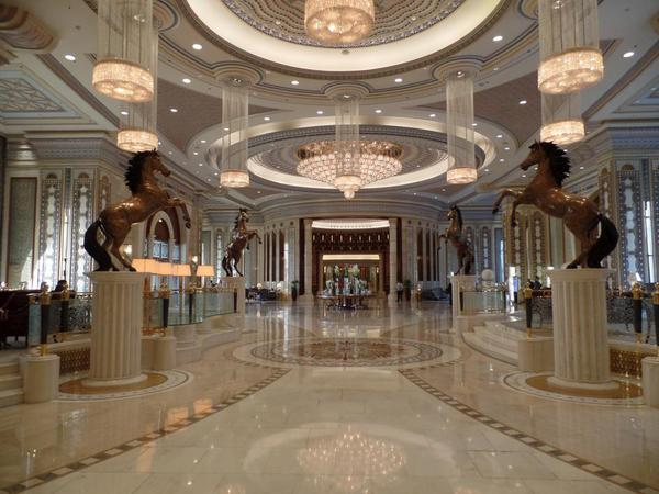 Entryway to Saudi Arabia Riyadh Ritz Carlton