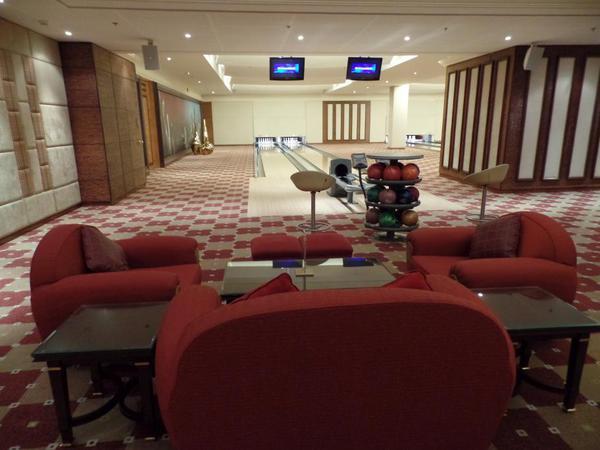Bowling alley, Saudi Arabia Riyadh Ritz Carlton