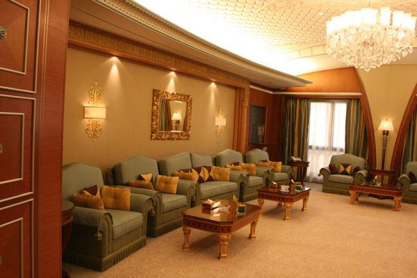 Presidential suite living room, Saudi Arabia Riyadh Ritz Carlton