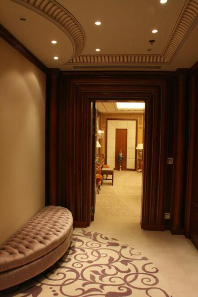 Presidential Suite entry, Saudi Arabia Riyadh Ritz Carlton