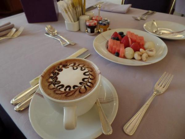 Hot Chocolate Service, Saudi Arabia Riyadh Ritz Carlton