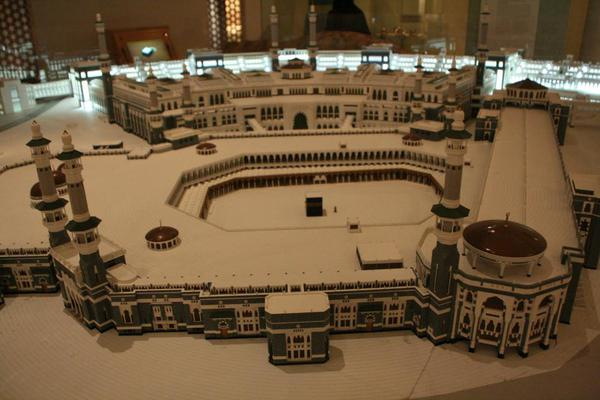 Saudi Arabia Riyadh National Museum, Mecca model