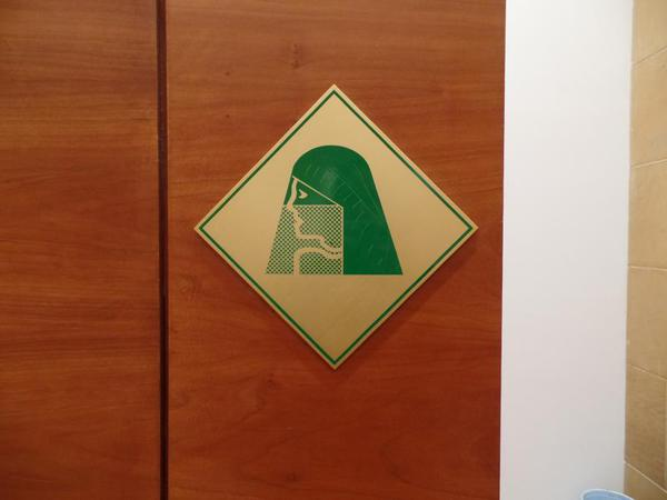 Saudi Arabia Riyadh National Museum. Women's bathroom