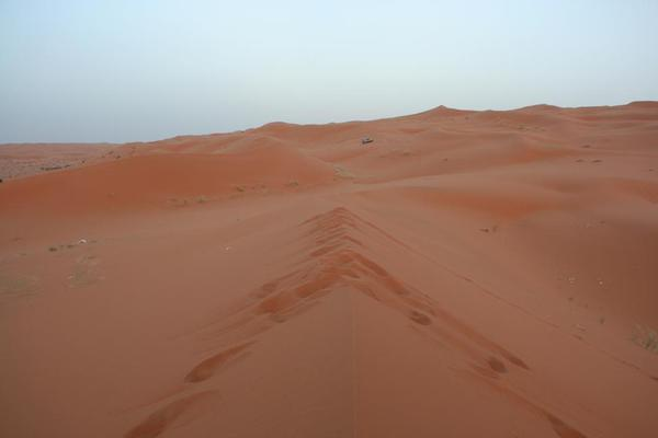 Saudi Arabia Riyadh Sands. The sands of time