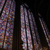 Stained glass windows at Saint-Chapelle, Paris